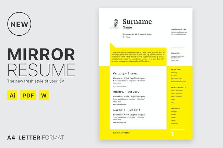 Thumbnail for Mirror Resume