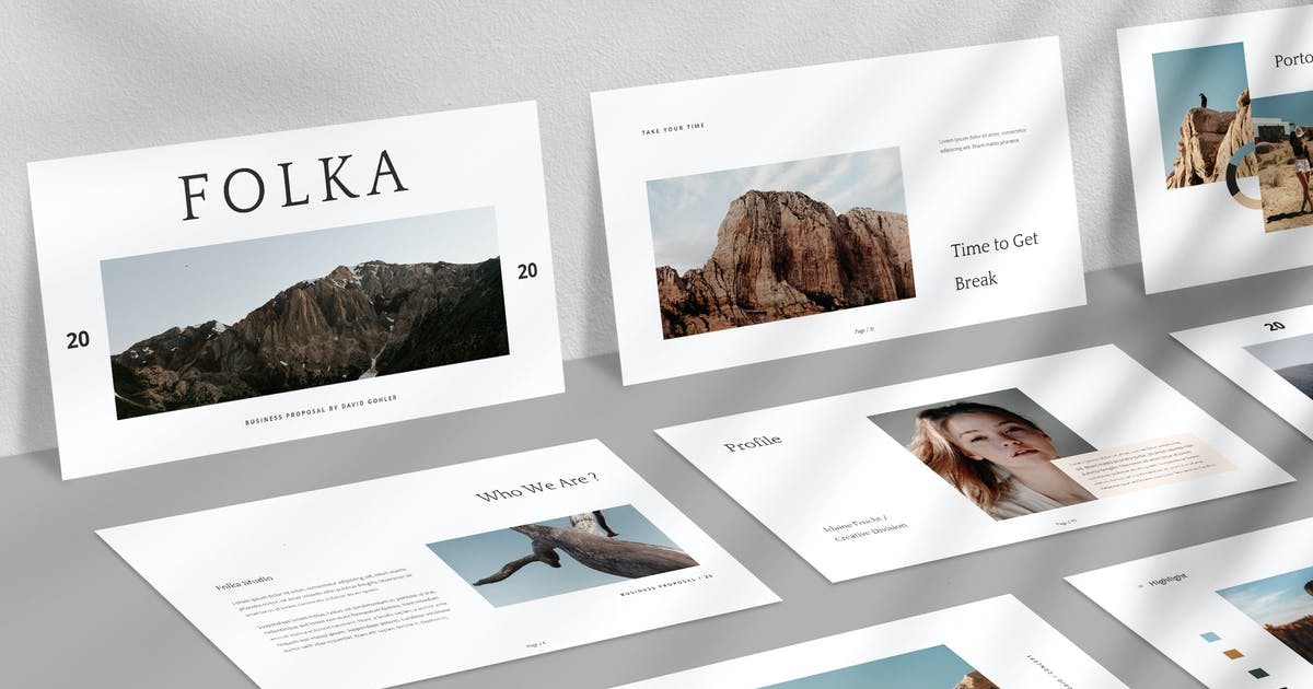 Download Folka Powerpoint by VisualColony