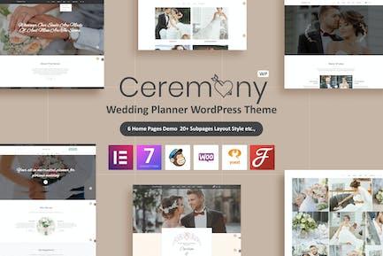 Ceremony - Wedding Planner WordPress Theme