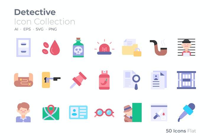 Detective Color Icon
