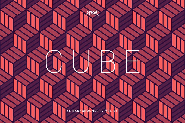 Thumbnail for Cube| Seamless Geometric Backgrounds | Vol. 04