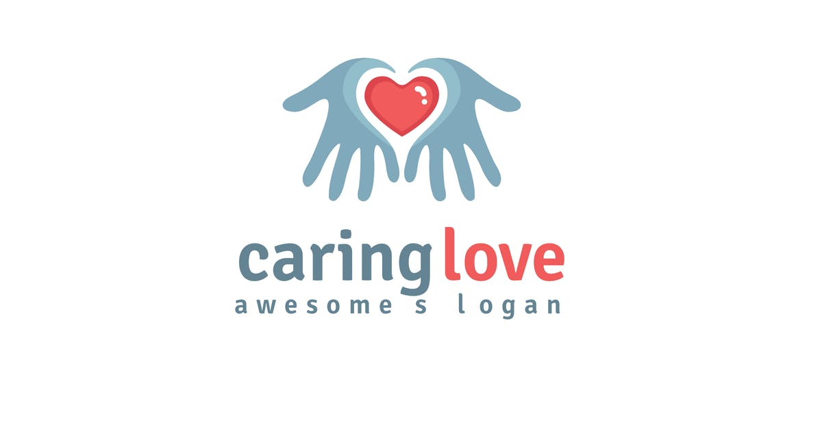 Download Caring Love Logo Template by Be_Themes