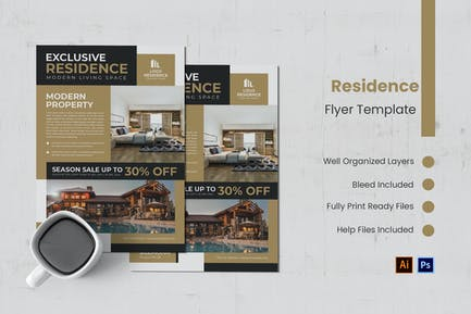 Exclusive Residence Flyer