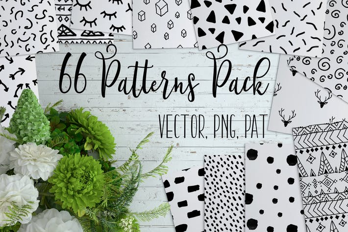 Thumbnail for 66 Cute Patterns Pack