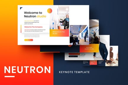 Neutron – Business Keynote Template