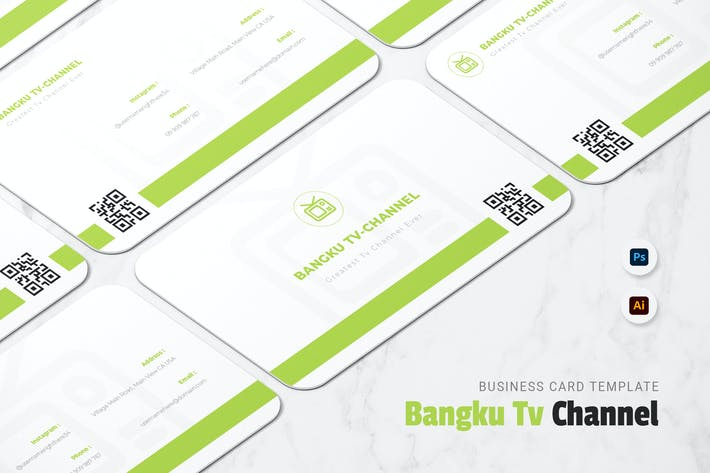 Thumbnail for Bangku Tv Channel Business Card