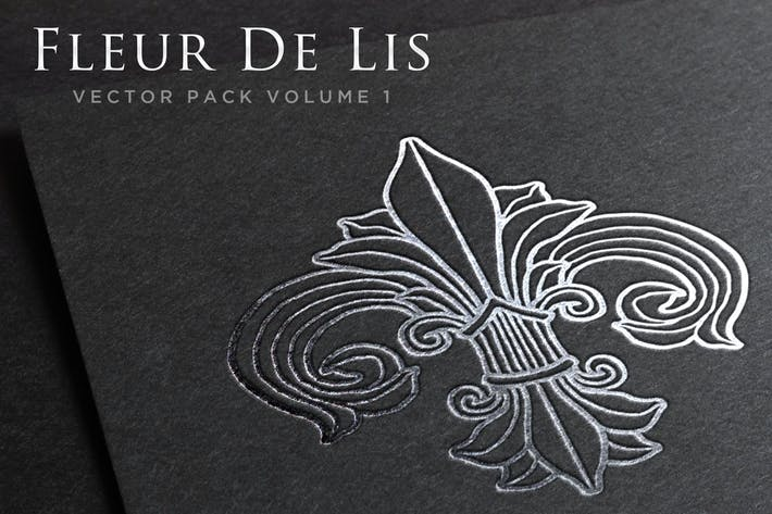 Thumbnail for Fleur De Lis Vector Pack Volume 1