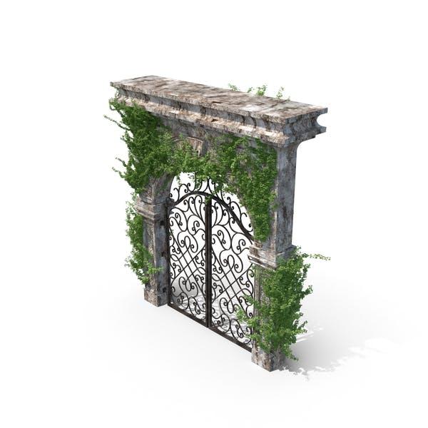 Eingang aus Stein