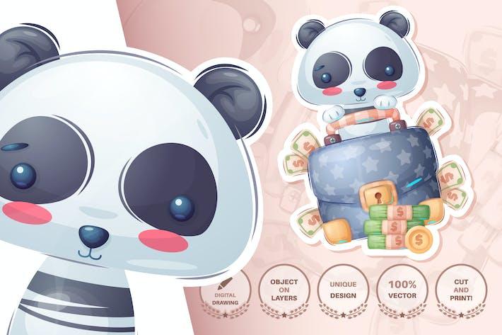 Thumbnail for Panda with diplomat
