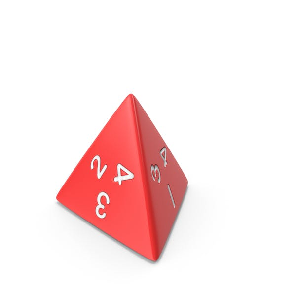 Thumbnail for Polyhedral 4 Sided Die