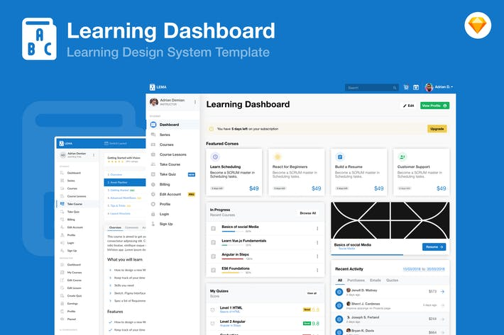 Thumbnail for Learning Education Academy Dashboard