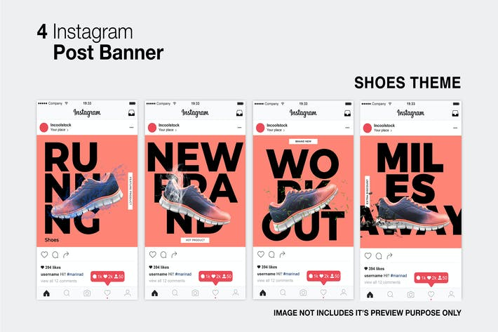 Thumbnail for Shoes Instagram Post