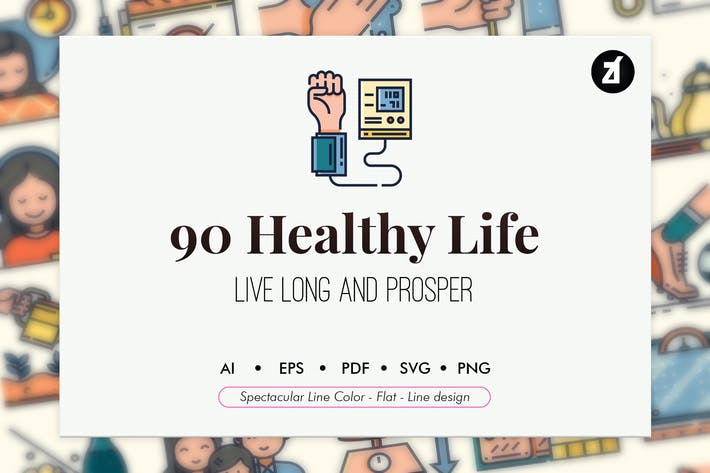 Thumbnail for 90 Healthy Life Elements