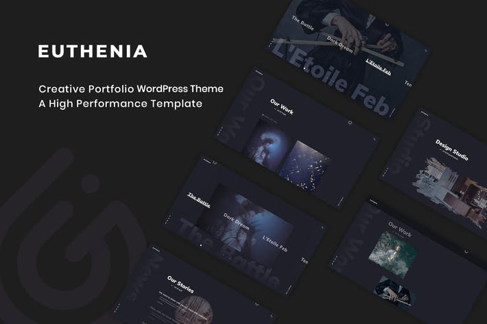 Thumbnail for Euthenia - Creative Portfolio WordPress Theme