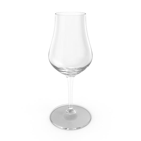 Whisky Tasting Glass Empty