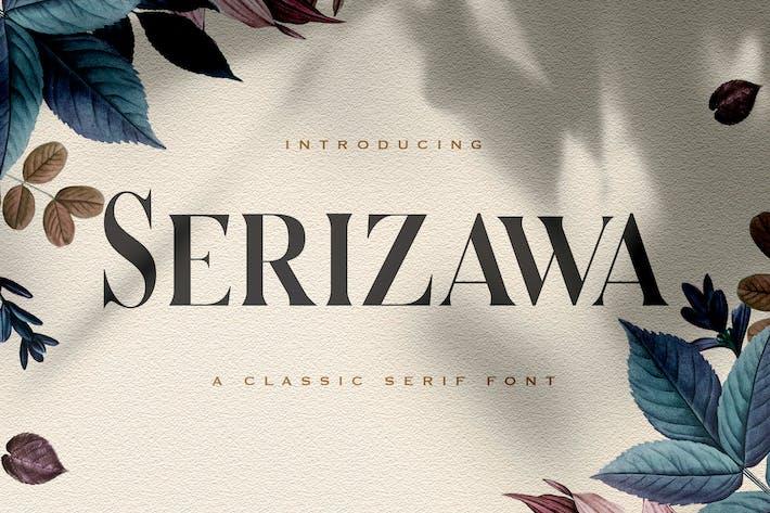 Serizawa - Fuente clásica Con serifa