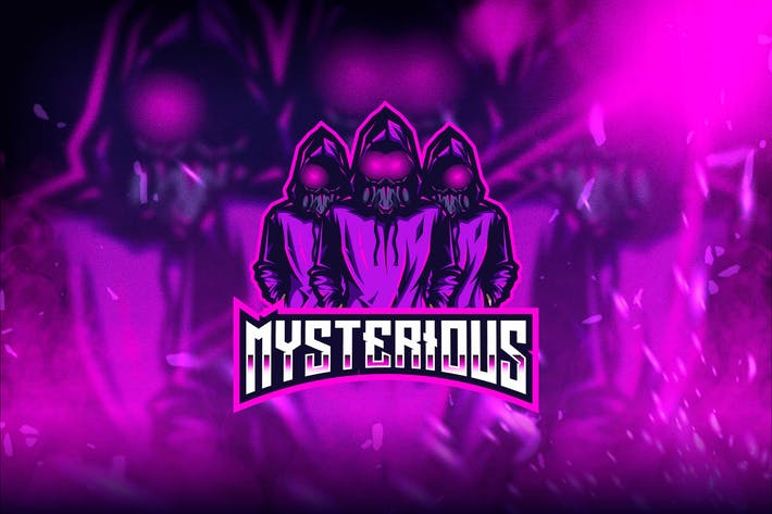 Thumbnail for Mysterious Esport Logo Template