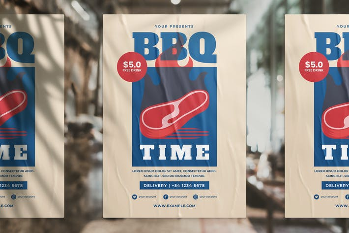 Thumbnail for BBQ Promotion Flyer