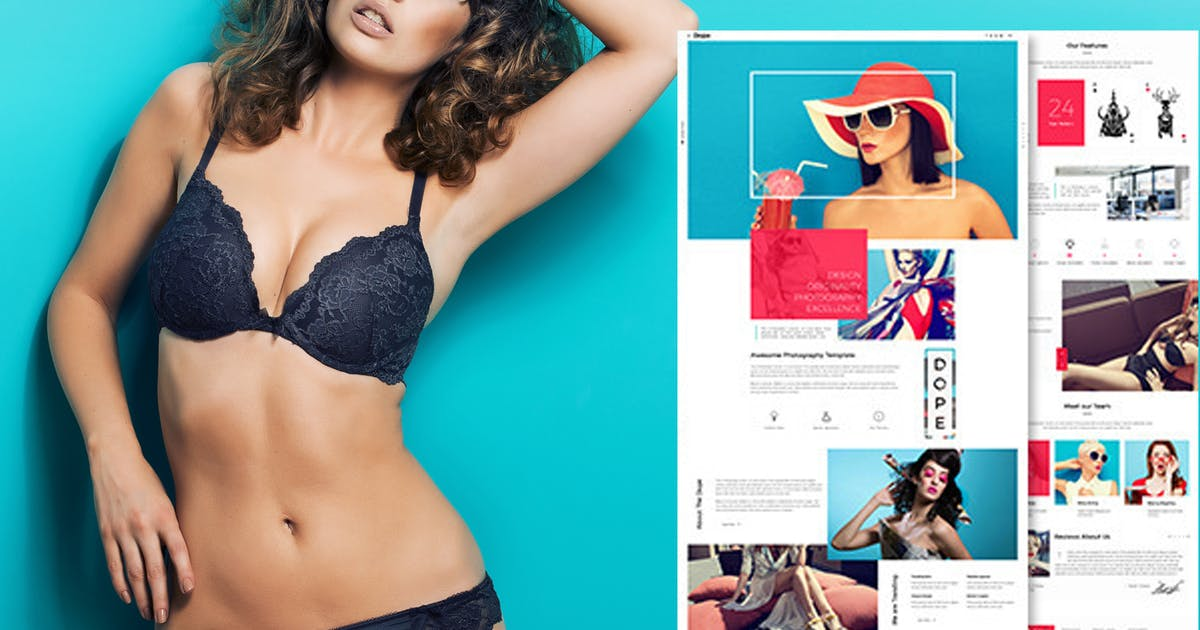 Download Dope -  Photography Portfolio HTML5 Template by webRedox