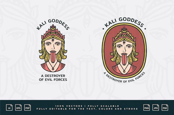 Logo Design - Kali Queen