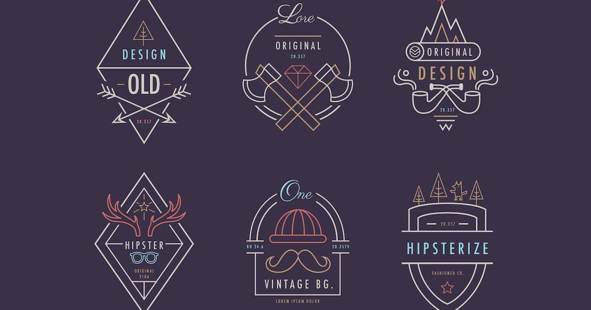 Download Hipster Badges by Jumsoft