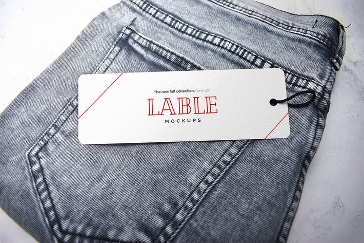 Thumbnail for Clothing Label Tag Mockup