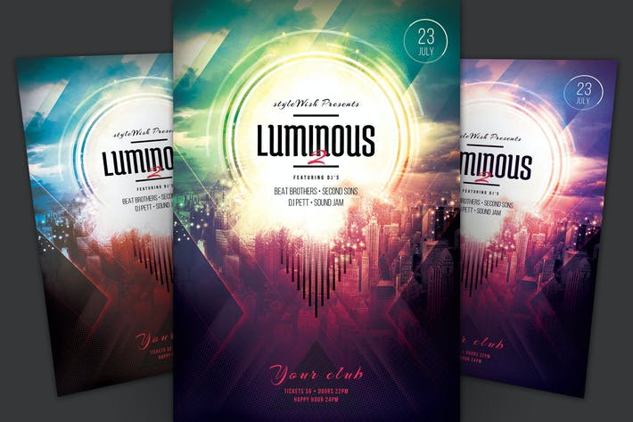 Thumbnail for Luminous 2 Flyer