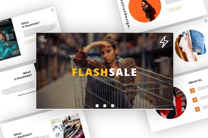 Flash Sale - Business Keynote Template