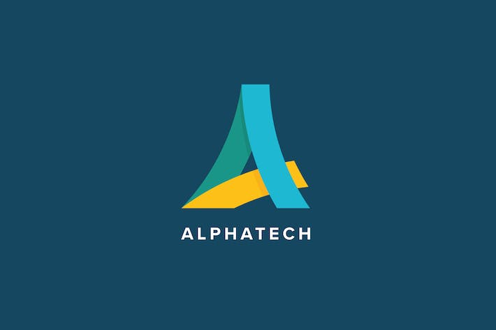 Thumbnail for Alpha Tech Logo Template