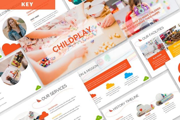 Thumbnail for Childplay - Шаблон Keynote