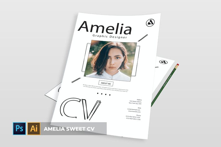 Thumbnail for Amelia Sweet | CV & Resume