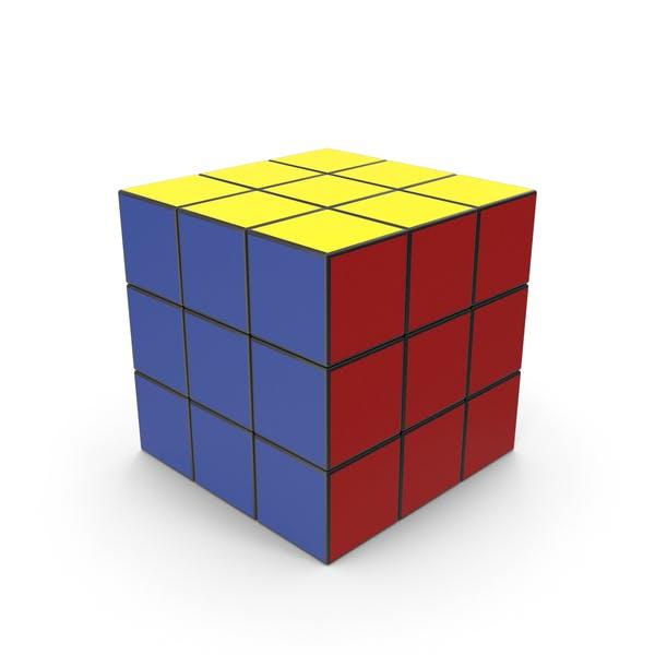 Цветной куб головоломки