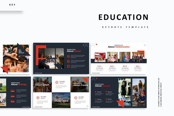 Cover Image For Education - Keynote Template