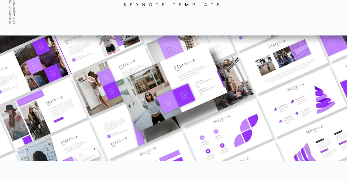 Download Maresca - Keynote Template by aqrstudio