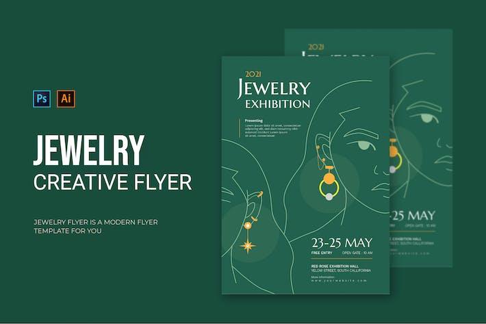 Jewelry Exhibition - Flyer