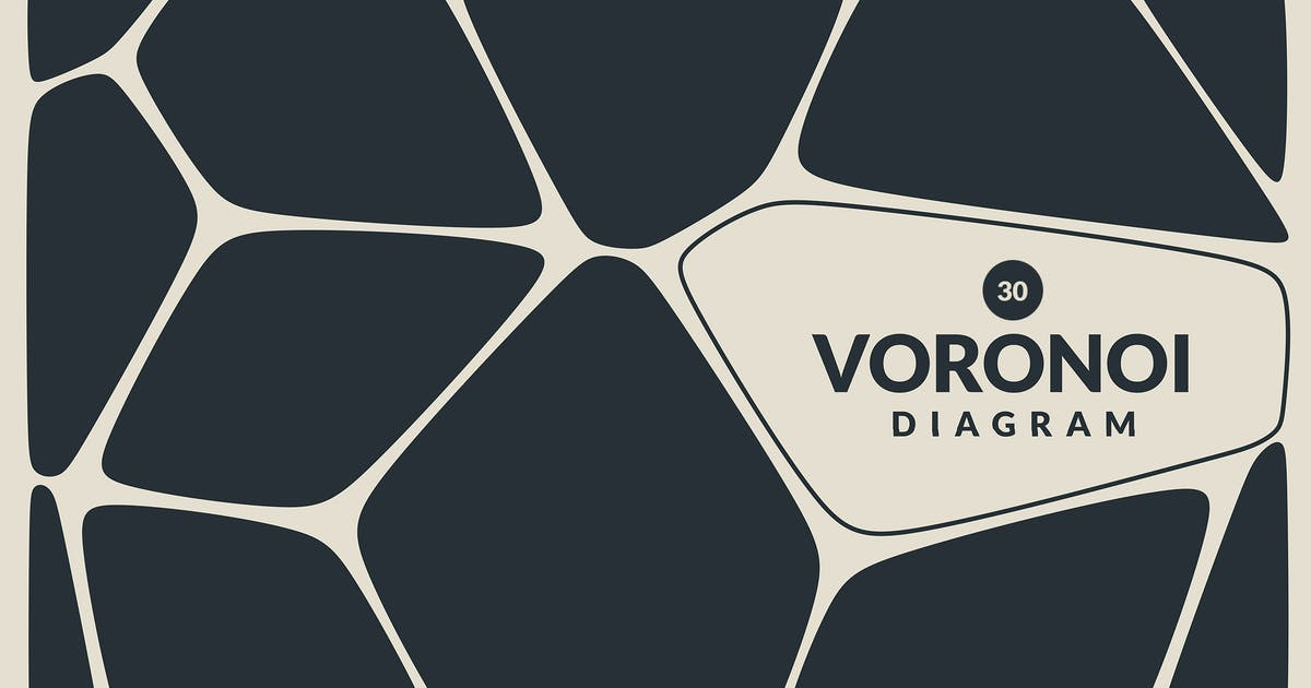 Download Voronoi Diagram Vector Backgrounds by Shemul