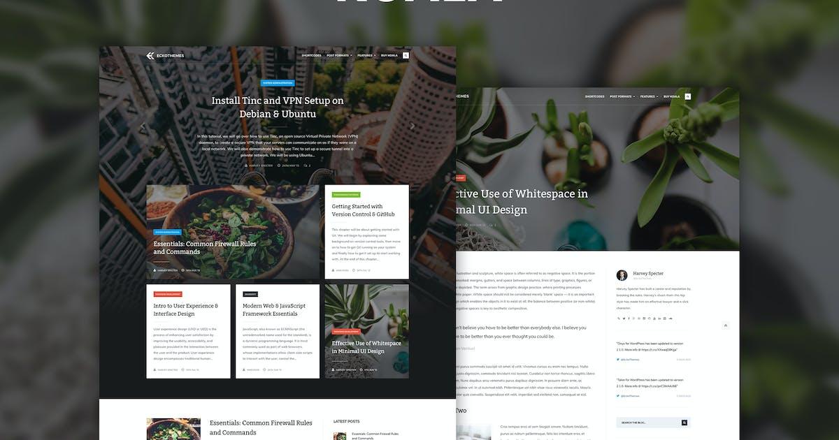 Download Koala - Responsive WordPress Blog Theme by EckoThemes
