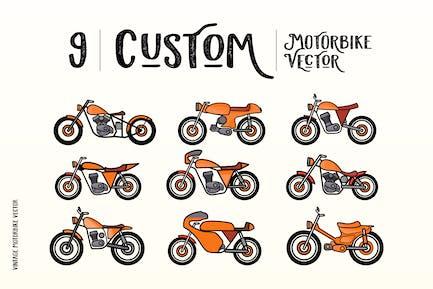 Custom Motorbike Vectors