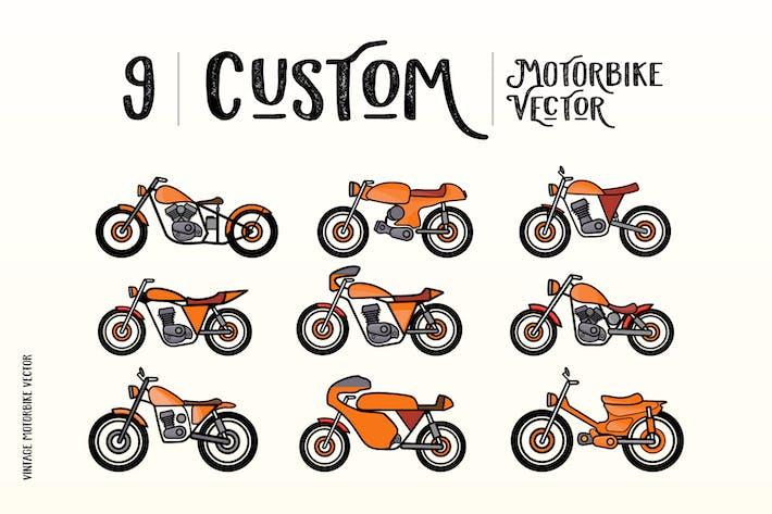 Thumbnail for Custom Motorbike Vectors