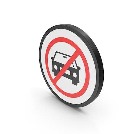 Icon No Car