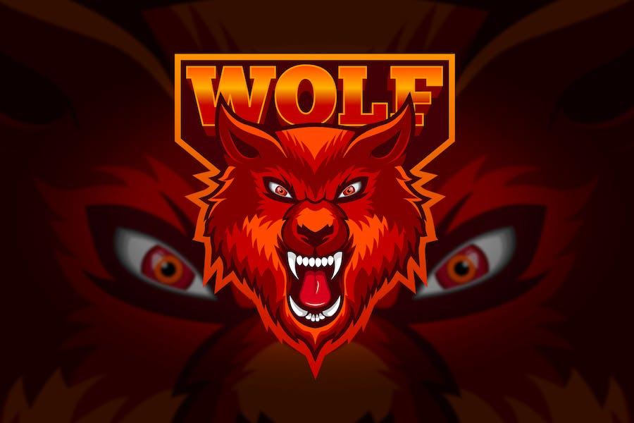 Wolf - Mascot & Esport Logo