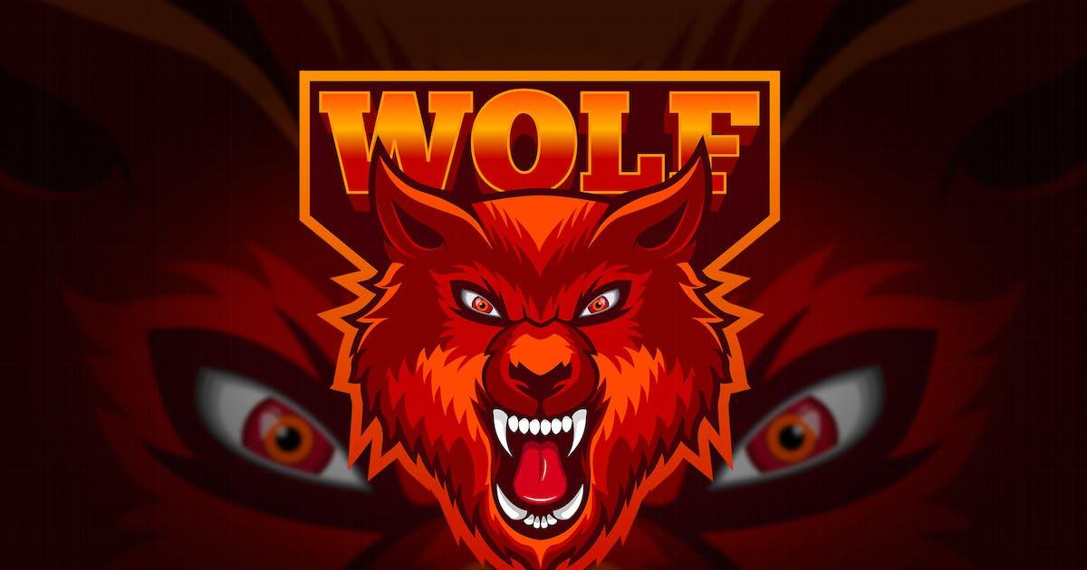 Download Wolf - Mascot & Esport Logo by aqrstudio