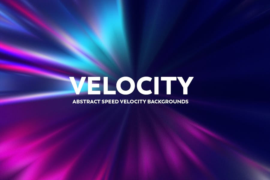 Abstract Speed Velocity Backgrounds