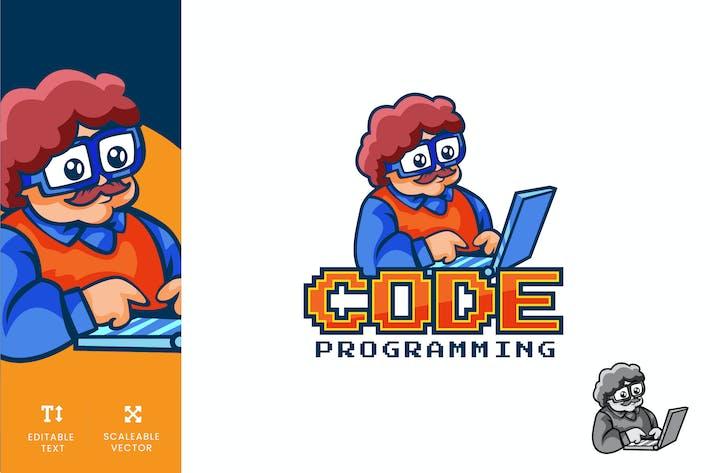 Thumbnail for Code Programming Technology Logo Illustration