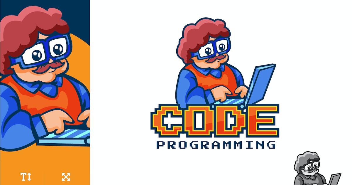 Download Code Programming Technology Logo Illustration by naulicrea