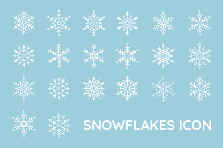 Thumbnail for Snowflakes Icon