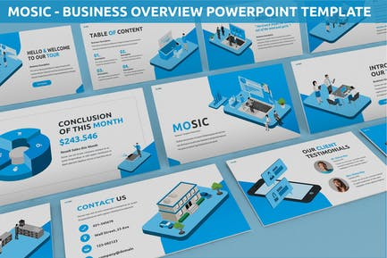 Mosic - Business Overview Powerpoint Template