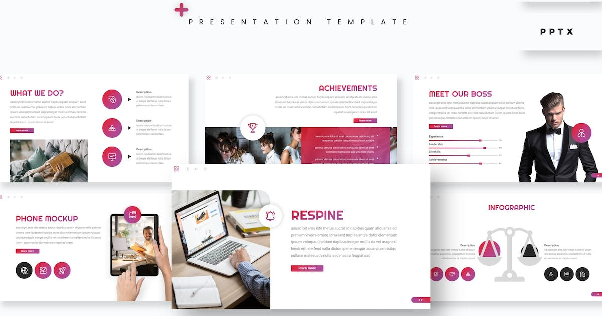 Download Respine - Presentation Template by aqrstudio