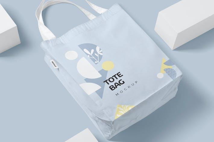 Cotton Tote Bag Mockups