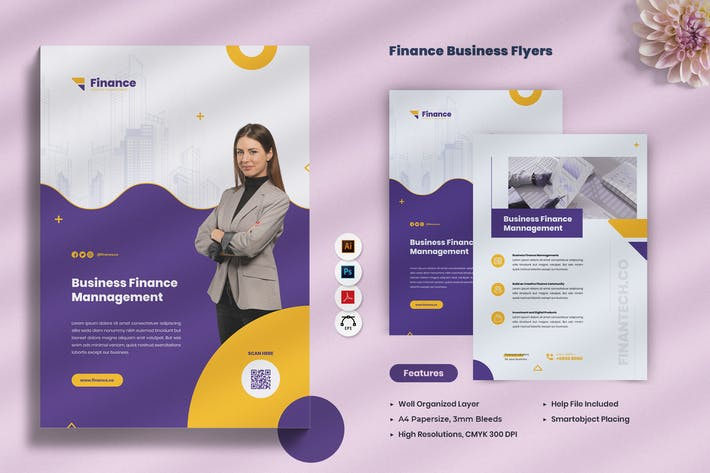 Thumbnail for Finance Business Flyer